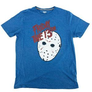 Old Navy Friday The 13th Graphic Tee M